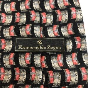 Ermenegildo Zegna Tie 100% Silk Made in Italy